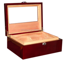 Wholesale antique luxury finished packing wooden cigar box