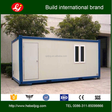 Prefab flat-pack 20ft container house