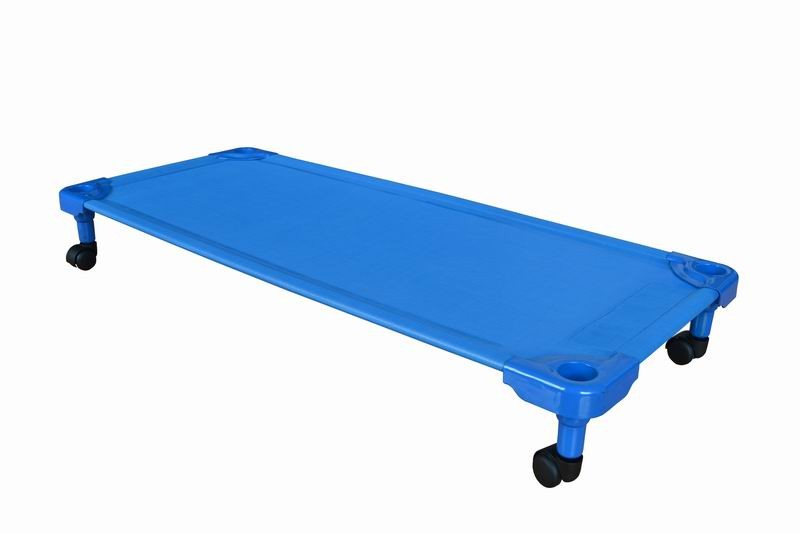 Yl Factory Supply Customized Design Fabric And Plastic Legs Long Service Life Portable Single Child Bed,Children Beds For Kids