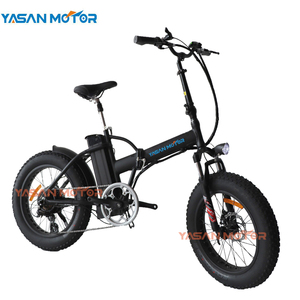 Super Powerful 1000W Folding Fat Tire Beach Cruiser Electric Bike