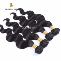 Factory price 6A daniella grey remy hair weave