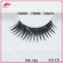 Makeup best selling lashes human hair eyelahes