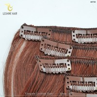 2015 Hot Selling Factory Wholesale Price No Tangle No Shedding clip-in yaki human hair extensions