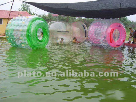 Inflatable Water Walking Rollers for entertainment