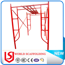 H Frame Steel Scafolding with Galvanized Cross Brace