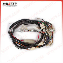 many motorcycle electrial parts for wire harness assy