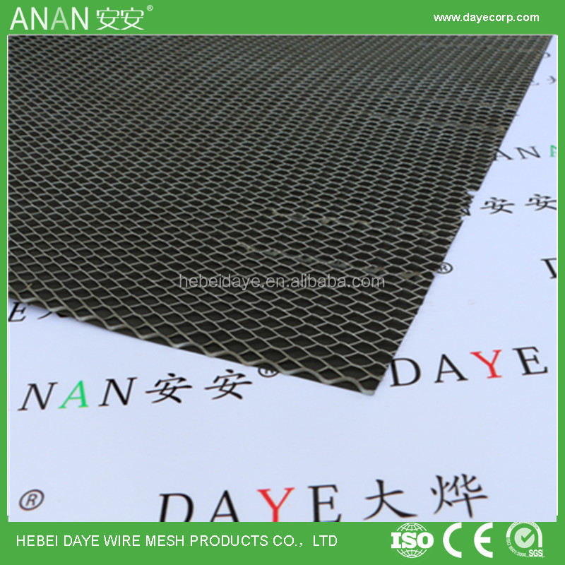 Galvanized iron material wall Plaster Mesh with Sticker