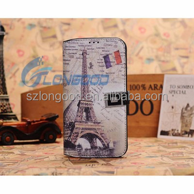 S4 Cases Fashion Hit Color Magnetic Flip PU Leather Phone Case For Samsung S4 I9500 Card Slot Wallet Holster Cover