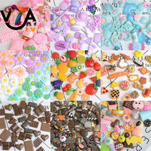 Fashion Mixed lot Food Resin Flatback cute Cabochons Decoden Pieces for phone decorations