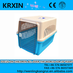 Portable Foldable Pet Dog House Carrier Cage Kennel Free Carry Case