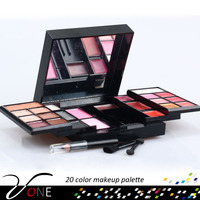 P23#2 Best sale makeup cosmetics 23 all shimmer color eye shadow makeup palette of private label