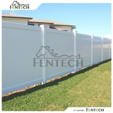100% Virgin Pvc material Uv Proof Cheap Vinyl/Plastic Fence