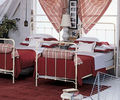 Factory direct shipping narrow single steel single bed