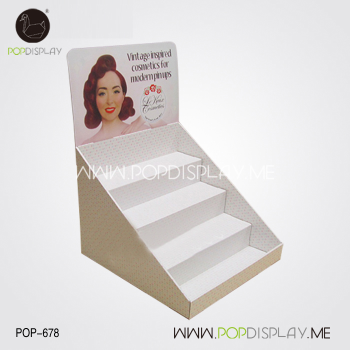 Promotional countertop postcard displays with CE&ISO