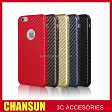 Fashion weave pattern Pu leather back case for iphone 6 6plus