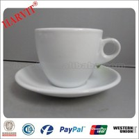 Hot New Products for 2015 90cc Italian Espresso And Macchiato Coffee Cups with Customized Logo/ Porcelain Cup And Saucer