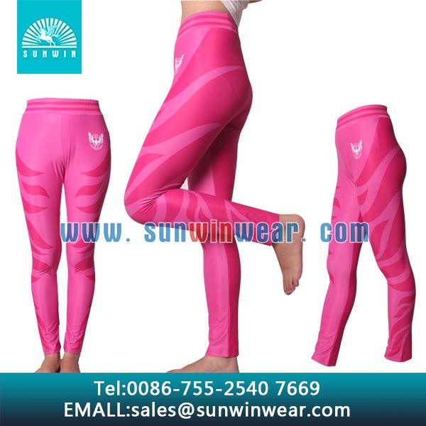 sublimation yoga pants/mens yoga pants/tight yoga pants