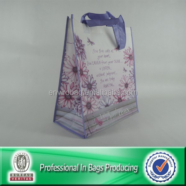 High Quality Custom Cheap Recyclable PP Non Woven Folding Shopping Bag