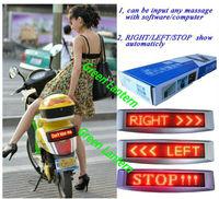 motorbike LED sign screen