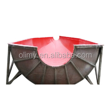 Custom big Fiberglass Feeding trough,hand lay up FRP cowshed