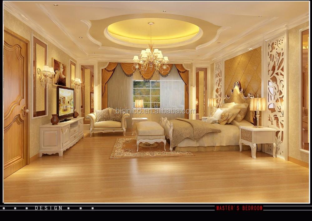 Sketch rendering 3d classic interior design for villa for Villa interior designers ltd nairobi kenya
