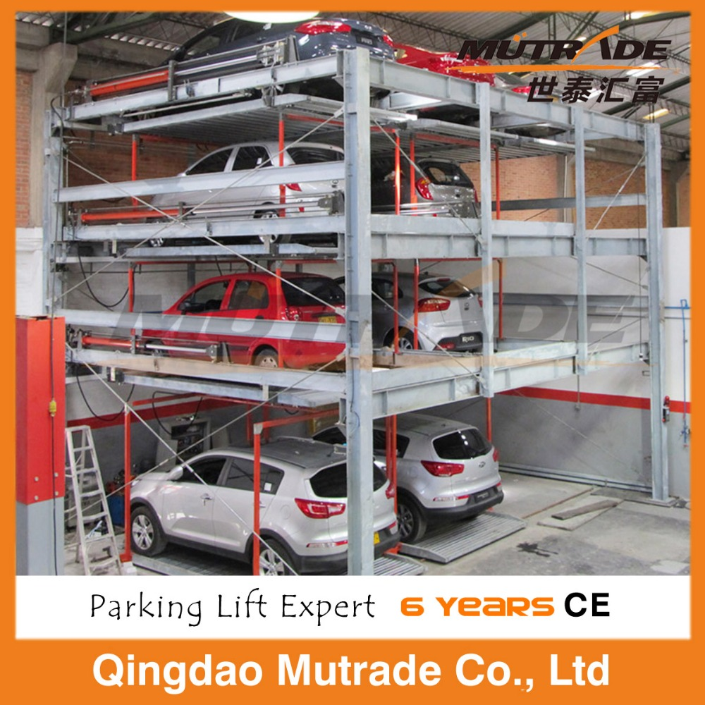 3 Level mobile auto Sliding Parking System/car Lifting equipment(ISO CE Approved)
