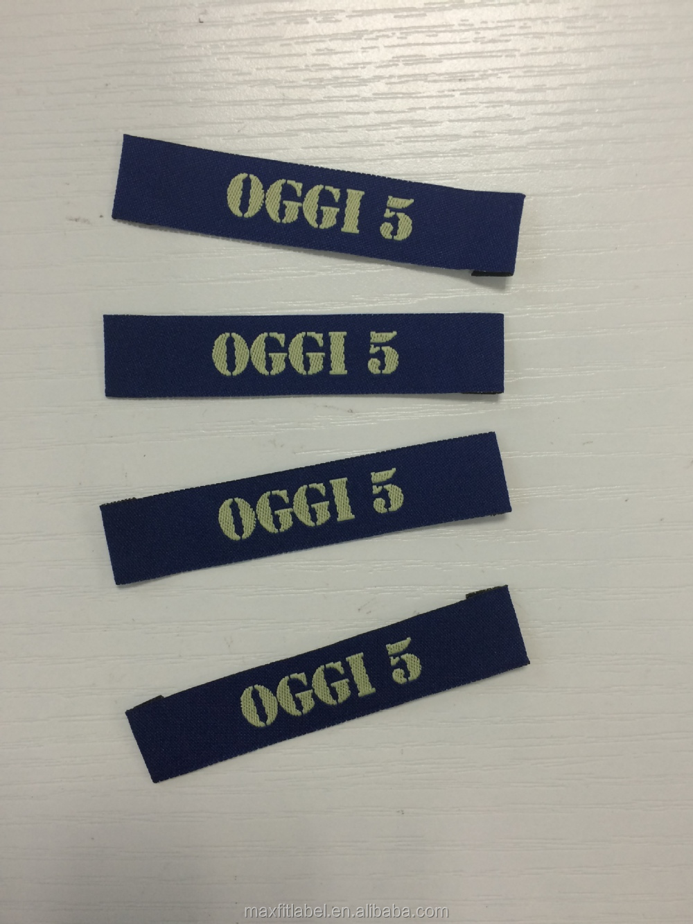 2016 China Hot sales high density garments woven Labels