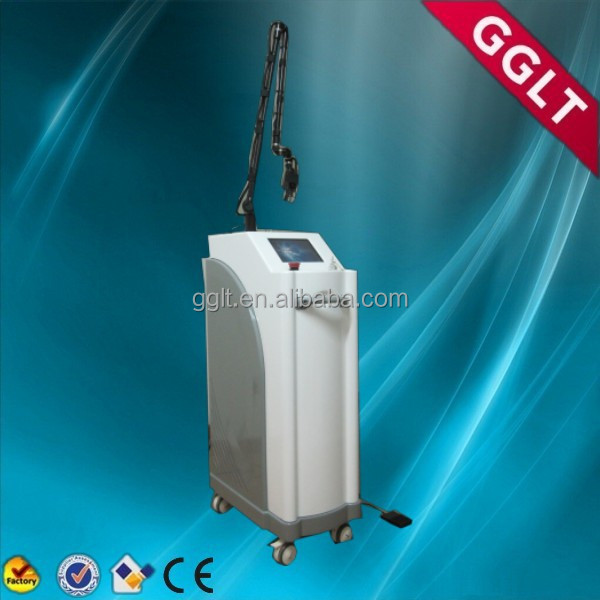 Beauty salon use co2 fractioal laser for scar removal, vagina tightener