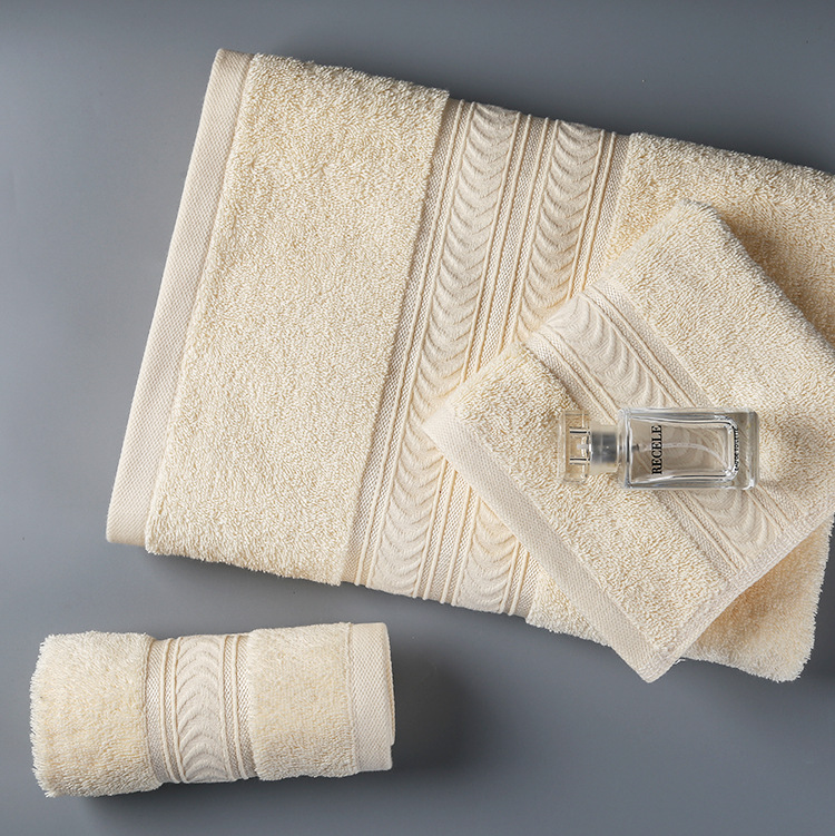 MRTONG Luxury 100% <strong>Cotton</strong> Plain Dyed Dobby Hotel Bath Towel