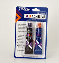 Factory produced industrial grade acrylic resin glue fast cure super glue AB adhesive with OEM standard