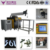 TF-300 300w cheap price for advertising words welding, laser welding machine for stainless steel welding