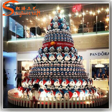 songtao cheap artificial giant chrisrtmas tree metal fram christmas tree decoration