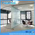 Aluminum frame ground glass partition wall of modern fashion