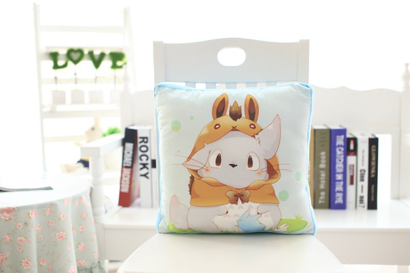 hot sale wholesale plush doll pillow with hat summer air conditionding blanket
