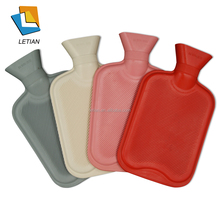 thermal water bag with knitted hot water bottle cover