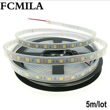 5m/lot Flexible LED Strip 5050 60LEDs/m LED Light RGB/White/warm white/Red/Green/Blue 5050 LED Strip DC12V
