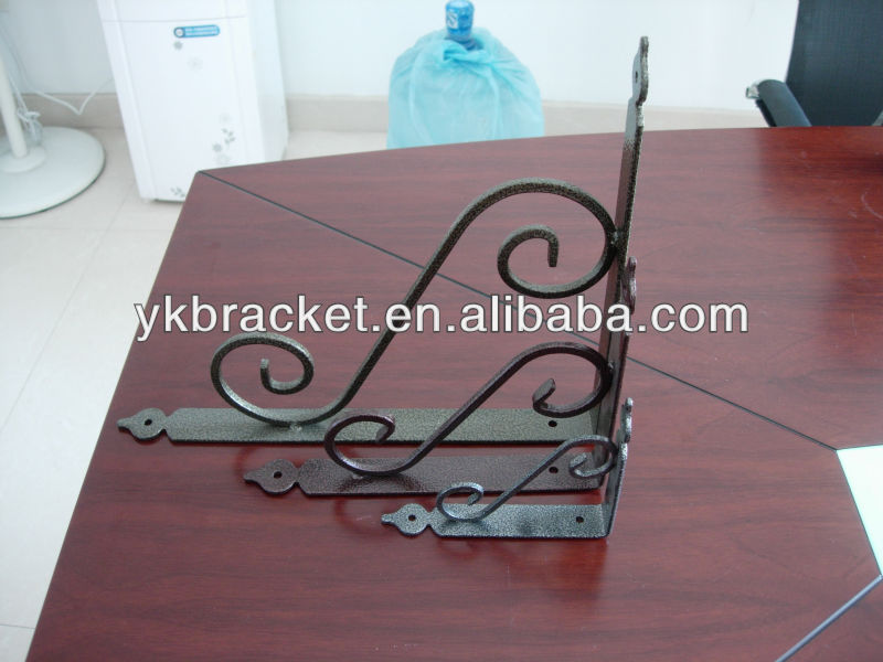 European style ornament furniture metal bracket