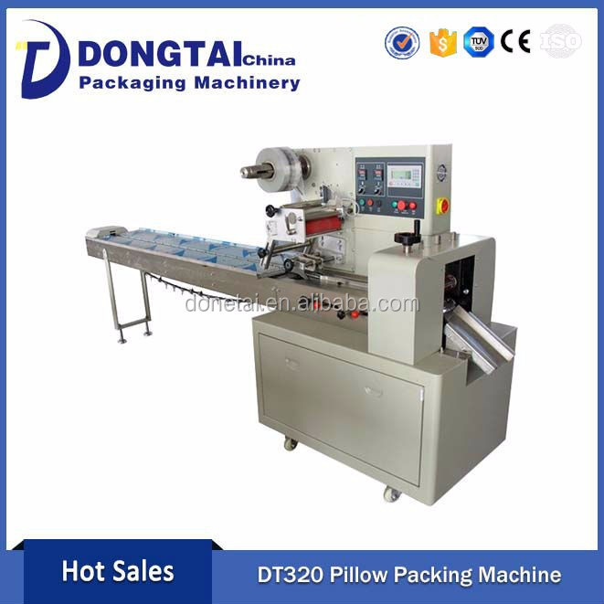 Pillow chocolate Wrapping Machine Packaging Machine