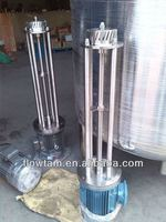 Stainless steel Batch high shear dispersing emulsifying mixer/homogenizer for cosmetic, chemical, food
