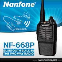 Nanfone NF-668P Cheap UHF Football Coach Walkie Talkie Two Way Radio with Antenna