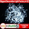 outdoor yellow red white italian light string with 8 function outdoor starry light string