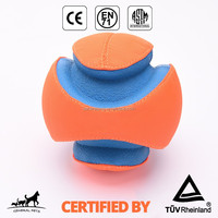 Interactive Vinyl Outdoor Fetch Dog Training Toy Ball