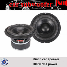 2016 JLD audio new design and best price for 8inch speaker subwoofer 300w mini audio woofer