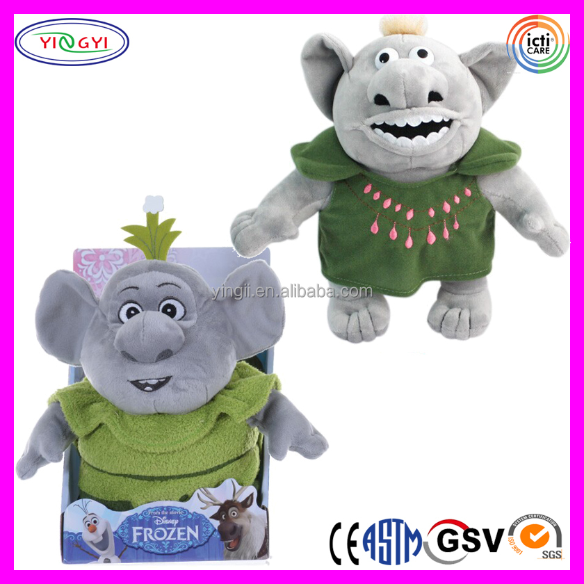 D226 Hot Popular Cartoon Soft Doll Stuffed Box Troll Plush with Display Box