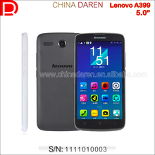 "Original Lenovo A399 Wholesale China Brand Phone WCDMA Unlocked 3G Smartphone 5.0"" Android 4.4 Touch Phone"