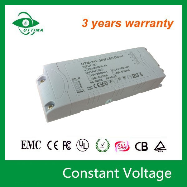 Shenzhen factory 20W 1700mA non-waterproof Constant voltage led driver