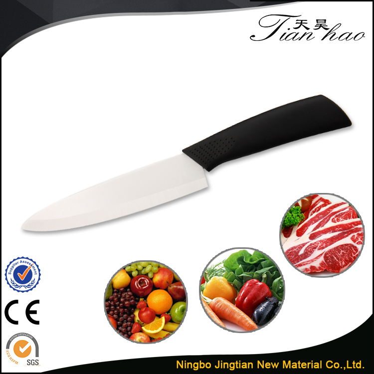 "6"" Slicing Best Price ABS Handle Ceramic King Kitchen Knife"