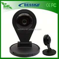 Free Shipping !!! 1/4-inch 1.0 Megapixel auto networking ip camera built-in microphone Support Two-way voice intercom