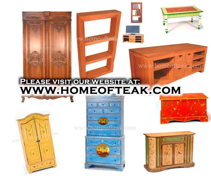 Muebles de teca en nicos y hermosos dise os otros muebles - Muebles de madera de teca ...