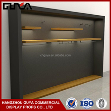 Wood material display furniture for clothing shop